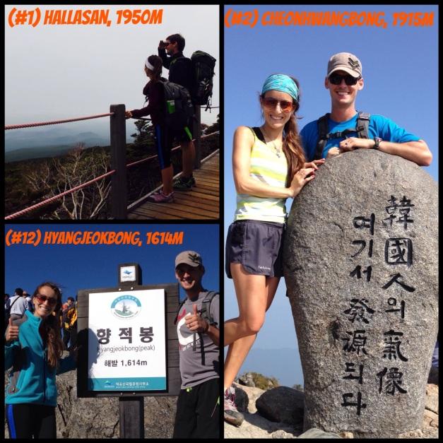 Highest Peaks in South Korea