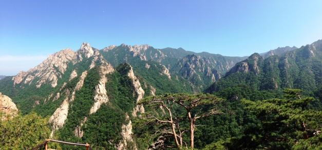 Seoraksan National Park near Geumganggul Cave