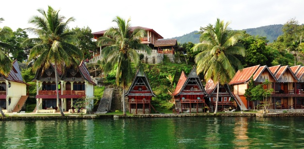 Mas Cottages at Lake Toba, North Sumatra